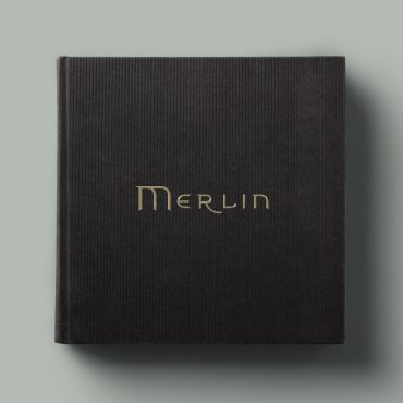 Adventures of Merlin Book Design