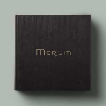 Adventures of Merlin Book Design