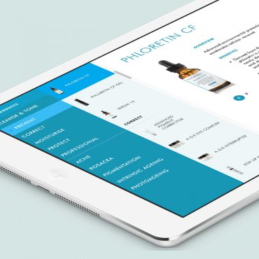Skinceuticals: The Lab iPad app